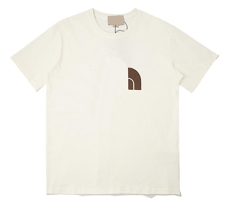 Europa Hip-hop Italia USA Collaborato Lettera Stampa T-shirt Skateboard Strada Strada Strada Cool Tshirt Uomo Donna Cotone Manica Corta Tee