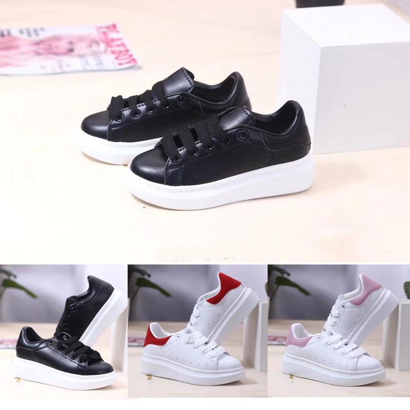 Corte baixo clássico sapatos casuais treinador crianças menino menina crianças skate juventude designer esporte sneaker tamanho 24-35