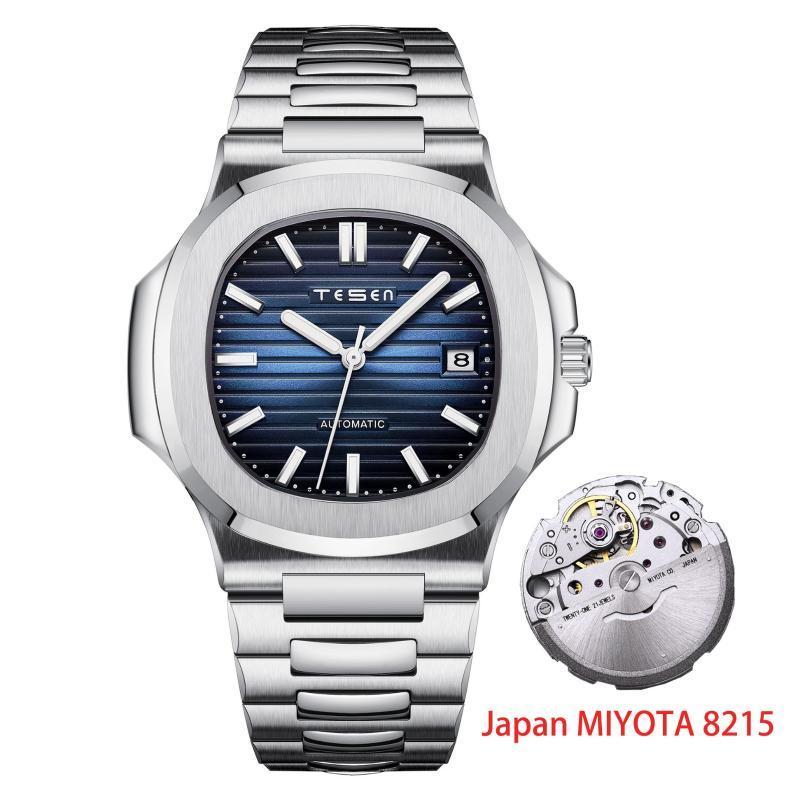 Top Männer Uhren Automatische mechanische Mode Leuchtende Wasserdichte Miyota 8215 Uhrwerk Armbanduhr Nautilus Armbanduhren