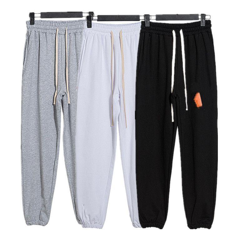 Alta Qualidade Calça de Manhã Mensões e Mulheres Calças De Moda Tendências Designer Slacks High Street Brande Fine The Leisure Sports