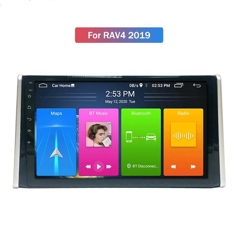 더블 DIN 스테레오 자동차 DVD 플레이어 오디오 멀티미디어 시스템 Autoradio GPS 스크린 라디오 Toyota Rav4