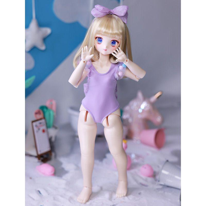 Saki 1/4 39.5cm BJD RESIN TOYS ACGN Fullset DD MDD MSD Bola Muñeca con unión lindo Anime Figura Juguetes para Niñas Muñeca