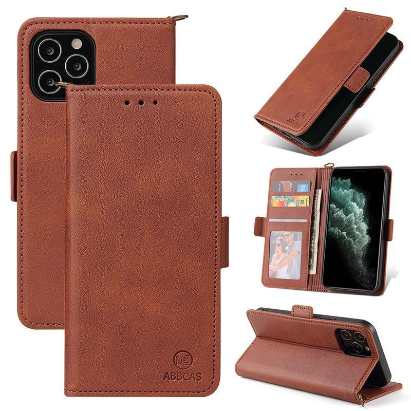 Лучшие дизайнер телефонные бумажные чехлы для iPhone 12 Pro Max Mini 11 XR XS MAX 7/8 плюс PU кожаный роскошный телефон оболочкой для Samsung S8 S9 S10 PLUS S10E Note 8 9 с карманным карманом