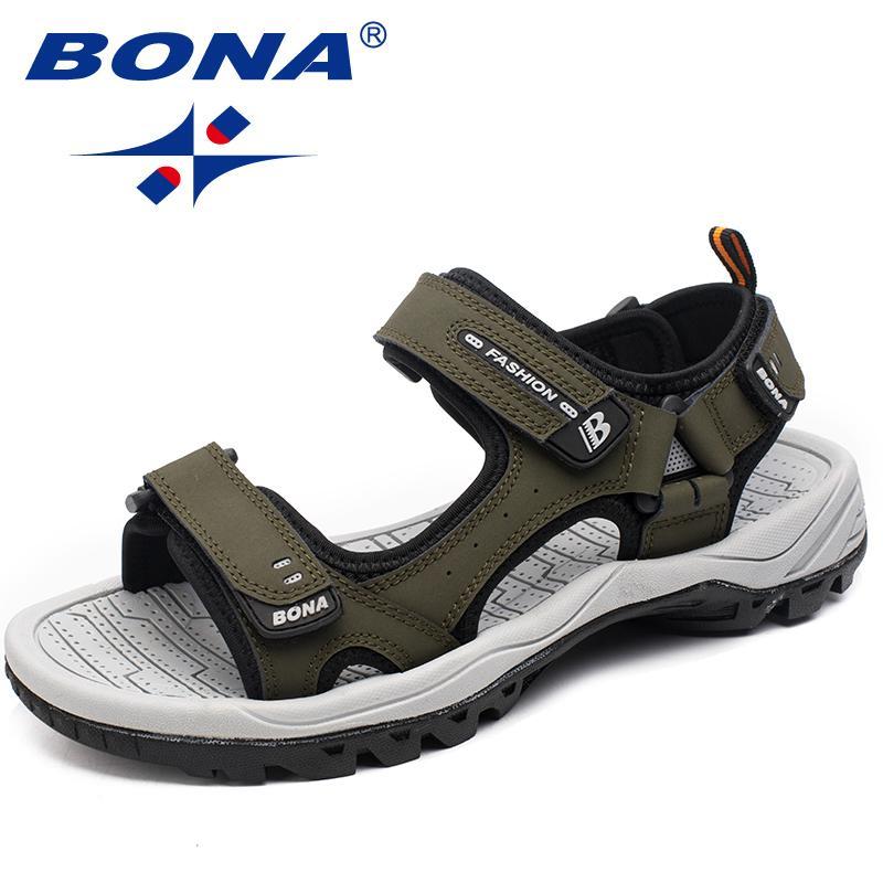 الكلاسيكية الجديدة نمط الرجال الصنادل في الهواء الطلق المشي الصيف الأحذية المضادة للسرعة شاطئ أحذية الرجال مريحة لينة أفضل جودة
