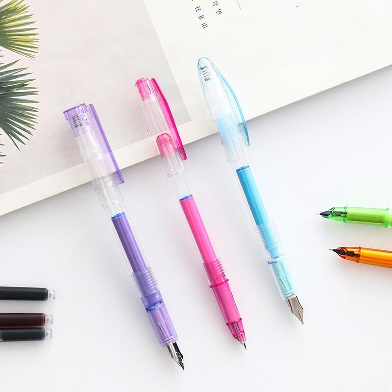 the 2910 Pocket Love Pen Set, 5 Pens + 13 Ink Bags, Changing Bag Combination Stationery