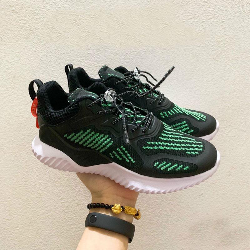 Desconto Alphabounce além de 3 crianças correndo sapatos menino menina juventude kid sneaker sneaker tamanho 26-35