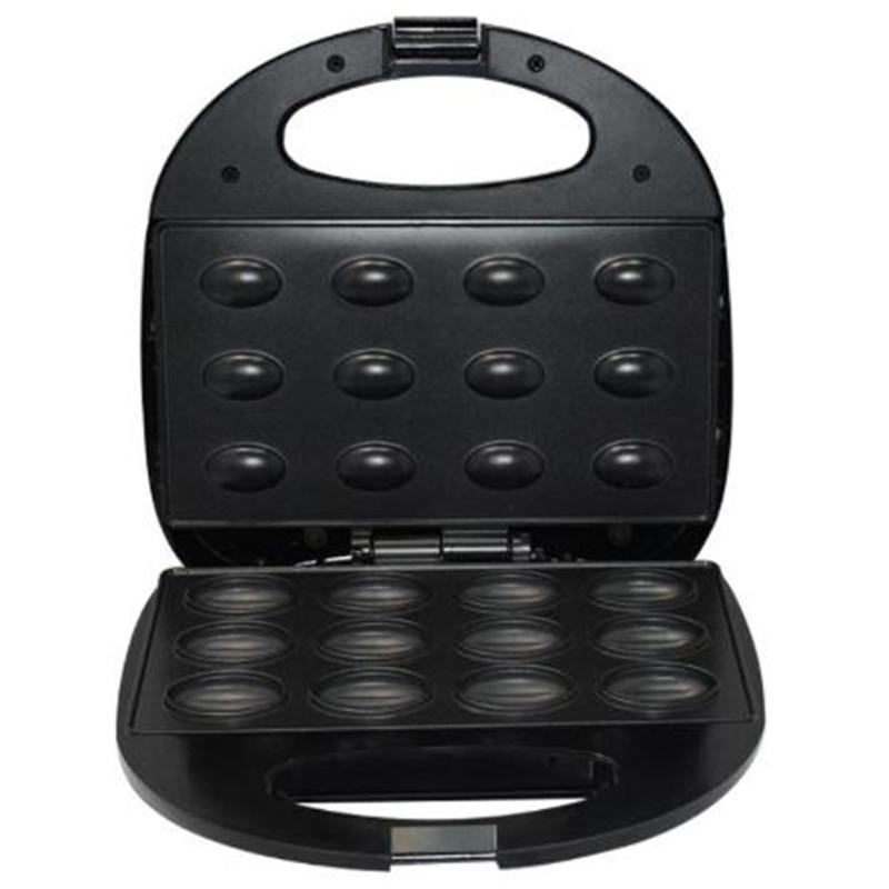 Macchina per pane elettrici Walnut Maker Maker Automatico Mini dado Waffle Machine Sandwich Iron Tostapane Cottura Colass Breakfast Pan Forno AU Plug