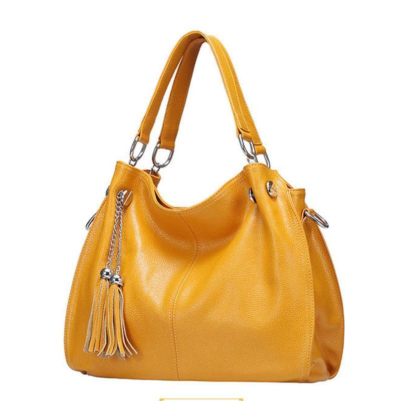 Fashion Women Leather Handbags Luxury High-quality Genuine Bags Messenger Real HBP Shoulder Large Top Wxjsi