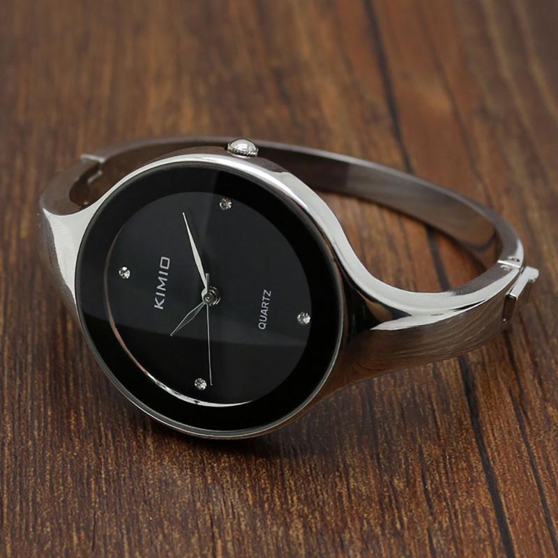 Montre-bracelet 2021 montre de mode ultra-mince femmes bracelet montres montres en acier inoxydable bracelet de bracelet de bracelet de luxe bracelet de luxe
