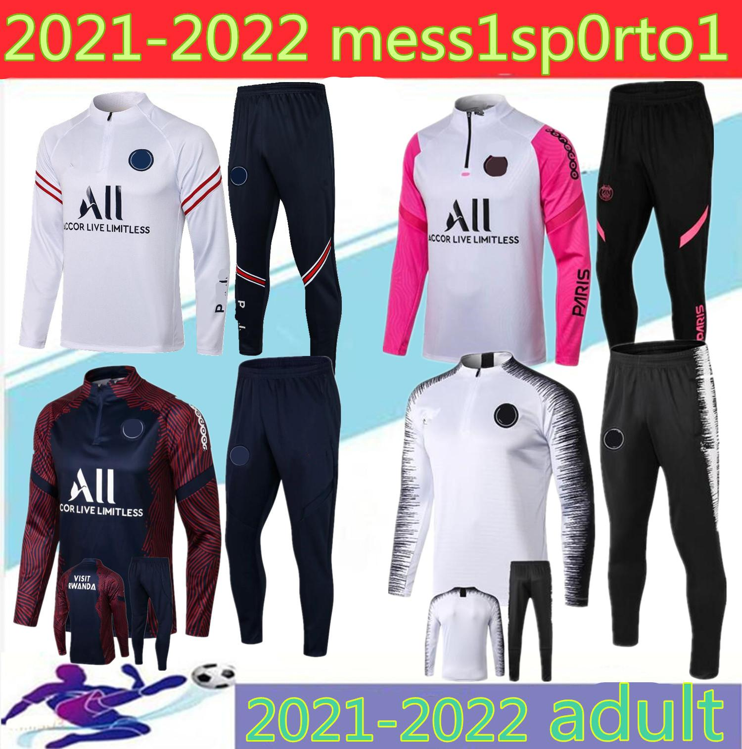 KADULT JACKET HOODIE SORVETEMENT 2020 2021PARI MBAPPE 축구 재킷 POGBA 축구 까마귀 트랙 슈트