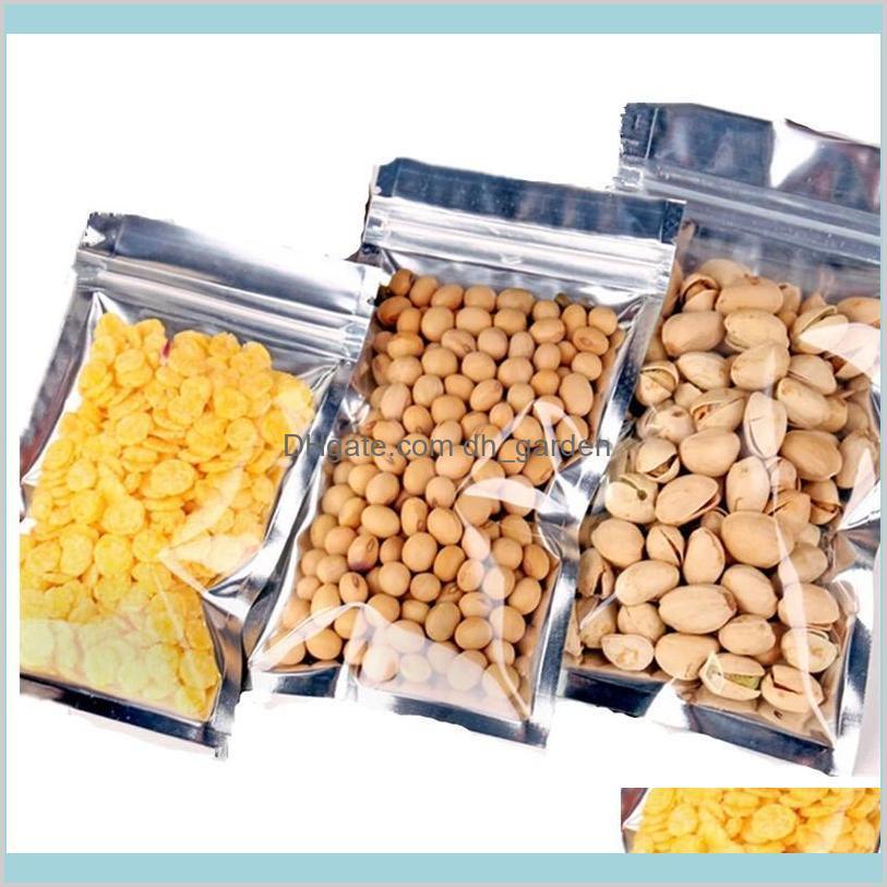 Imballaggio ufficio scuola business industriale plastica alluminio alluminio richiudibile con cerniera imballaggio sacchetto cibo tè caffè sacchetto odore a prova di sé sé