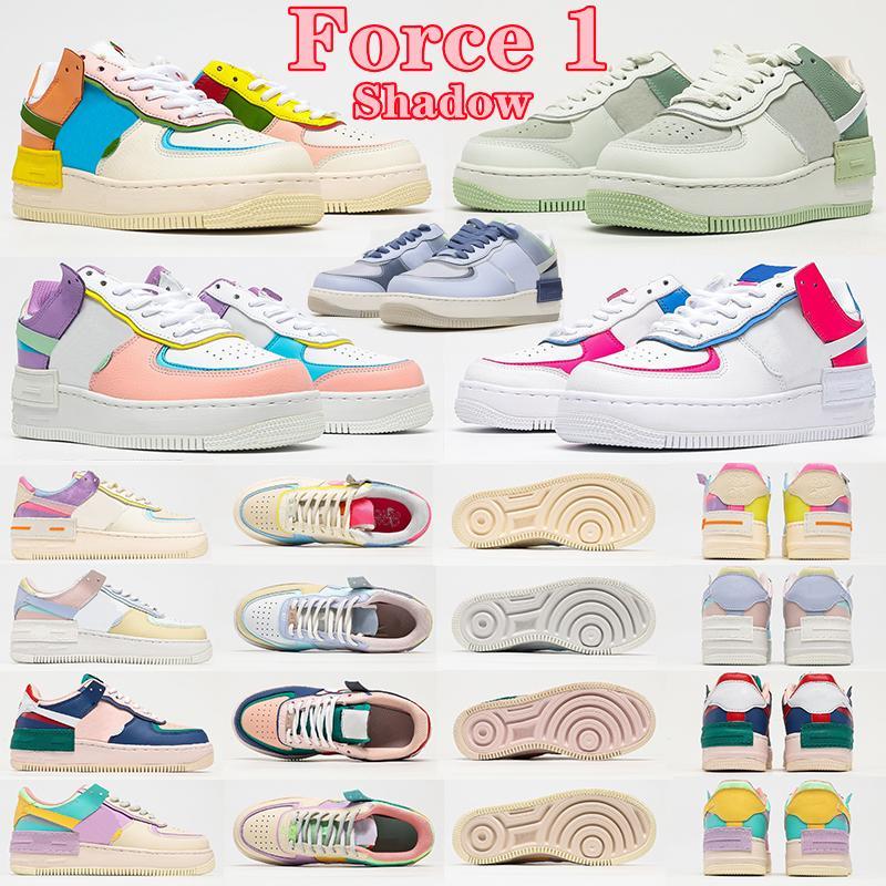 Nike Air Force 1 Shadow Shoes AF1 1 women shoes shadow triple white black Tropical Twist Spruce Aura skateboard mens trainers sports sneakers platform