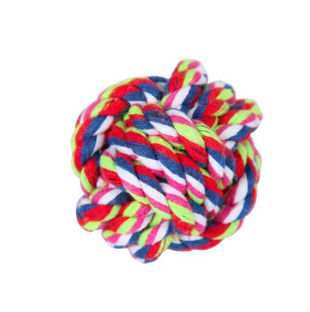 Pet Products algodão mastigo corda cães brinquedos interactive bola durável em forma de animais de estimação cão cordas trançadas cachorrinho mastigas