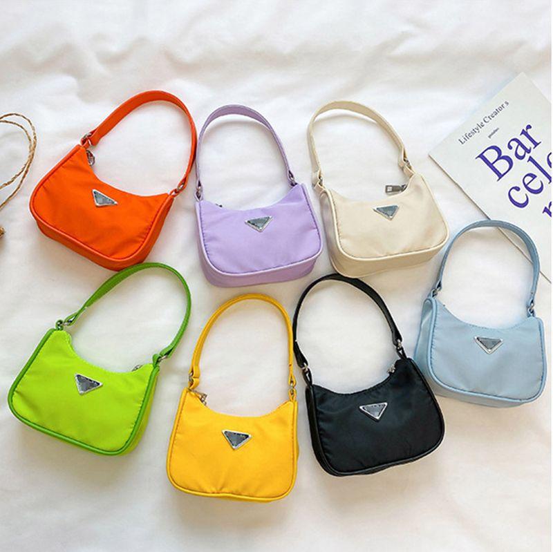 Çocuklar hediye tasarımcısı mini çanta çocuk çanta bez çanta sevimli gençlik kız prenses parti çantası kadın tote messenger çanta moda bir omuz sırt çantası