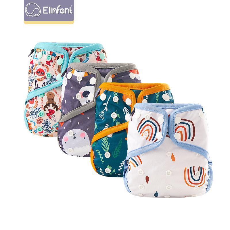 Elinfant Cloth Diapers 기저귀 삽입 삽입 한 Alva Baby