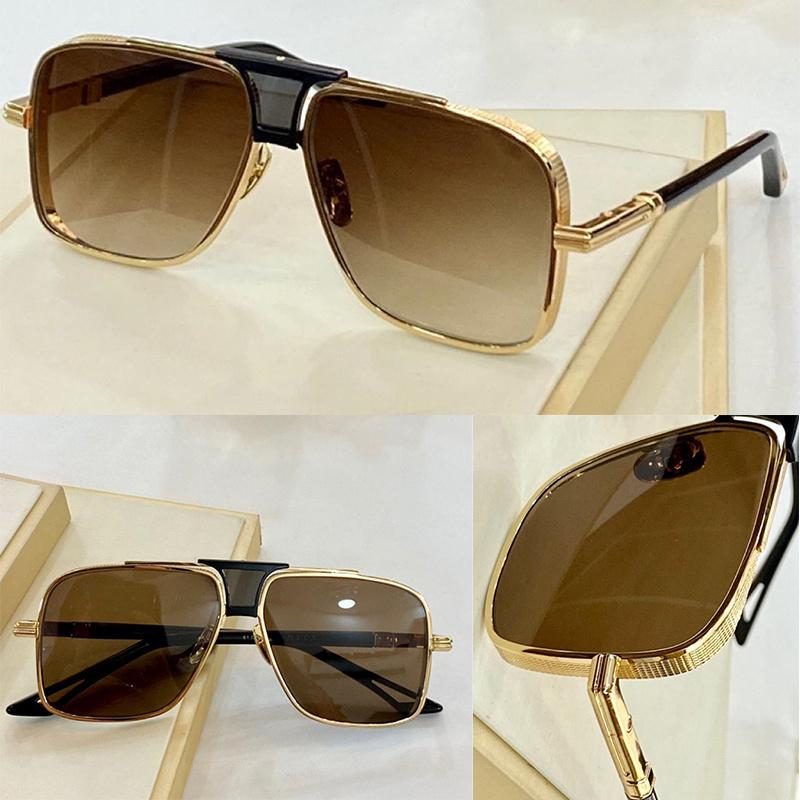 Sunglasses For Men Drive Summer style Anti-Ultraviolet Retro Rectangle Plate Full frame Fashion Eyeglasses Random Box EPIX.05