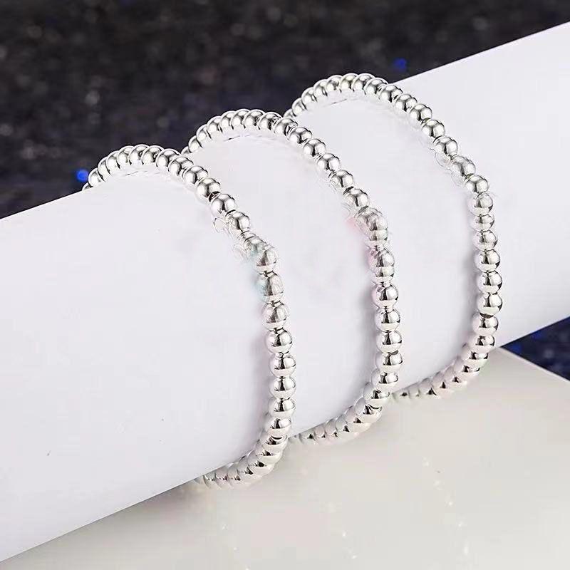 Bouches de Bouddha à la mode de haute qualité 925 Silver Silver Strands Love Charms entourent la boîte cadeau d'emballage de la dames de tempérament