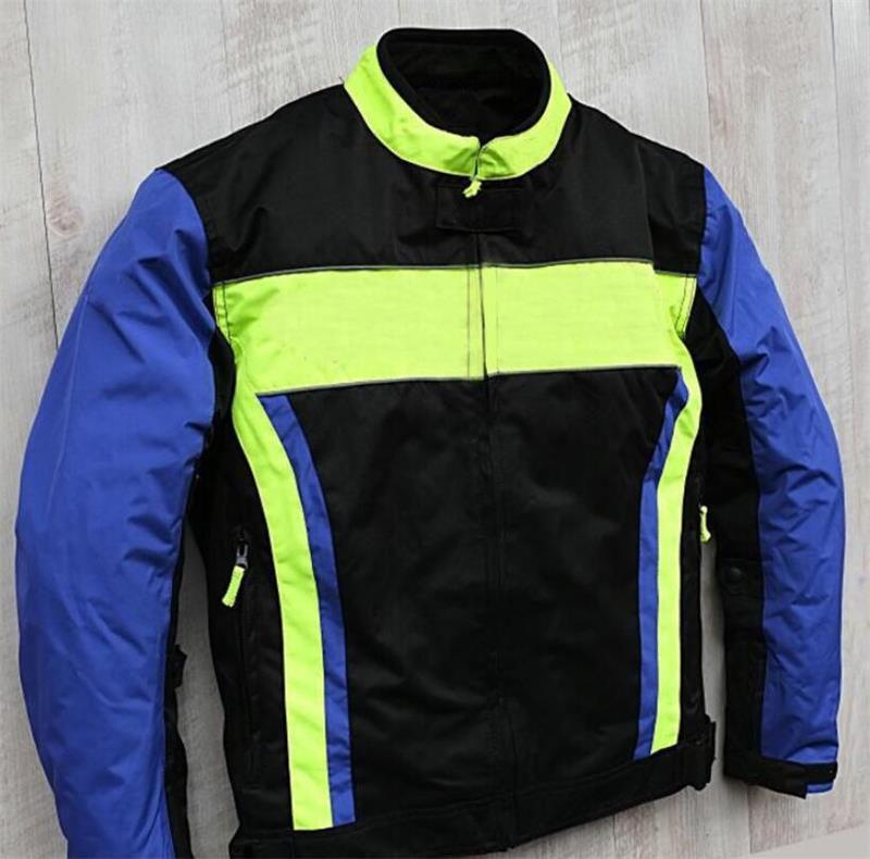 Motosiklet yarış ceketi, rüzgar geçirmez sıcaklık ve sonbahar geçirmez binici takım elbise, dört mevsim evrensel, aynı stil özelleştirilebilir