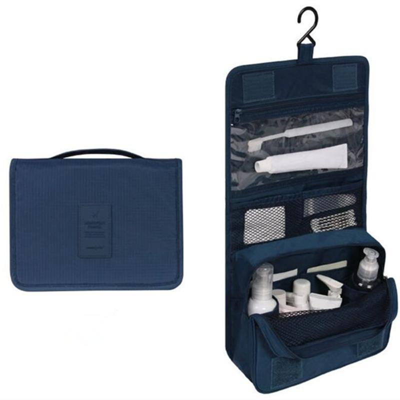 Armazenamento portátil do armazenamento do curso Cosmético Organizador de pano Underwear Heartry Mala Maquiagem Wash Sacos de suspensão