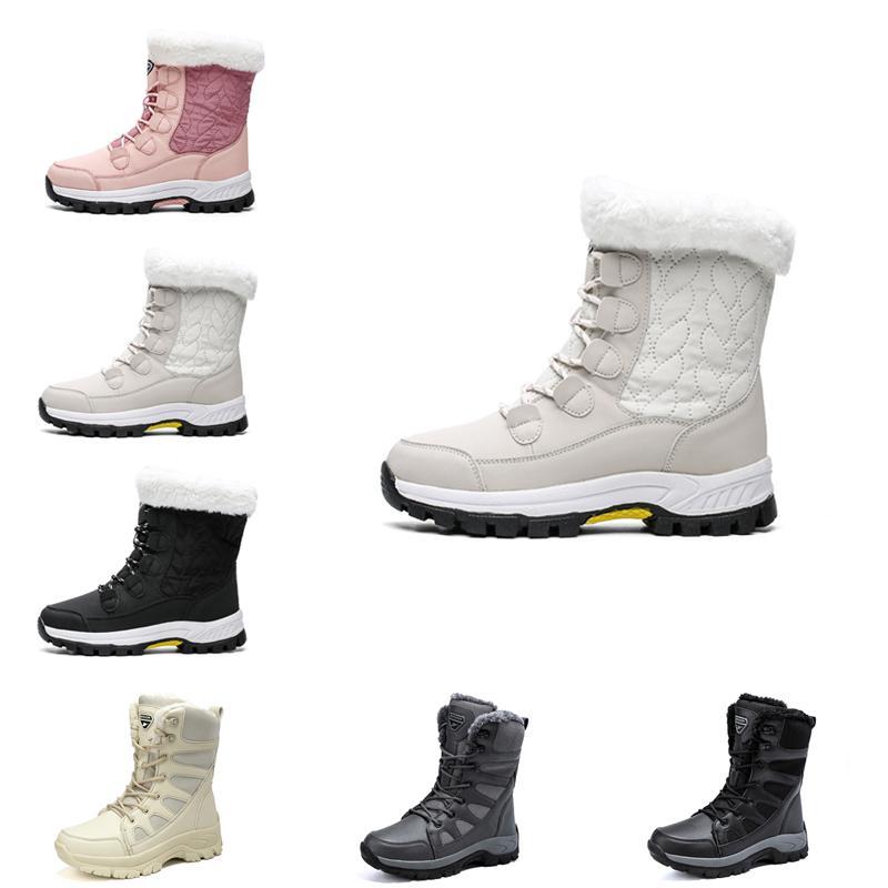 مصمم النساء الثلوج أحذية أزياء الشتاء التمهيد الكلاسيكية البسيطة الكاحل السيدات قصيرة السيدات الفتيات المرأة الجوارب الثلاثي الأسود الكستناء البحرية الأزرق