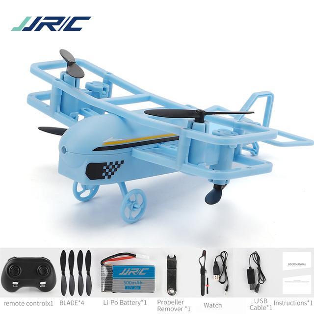 JJRC H95 2.4G Пульт дистанционного управления Мини-планерная игрушка, высота Удержание, регулируемая скорость, 360 флип, режим без головы, ред без головы, рождественское малыш день рождения мальчик подарок, автор