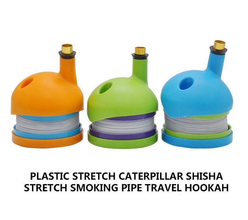Новый стиль Bukbet Gravity Bong Курительные пластиковые трубы 4 цвета WickiePipes для сухого травы гусеницы трубы