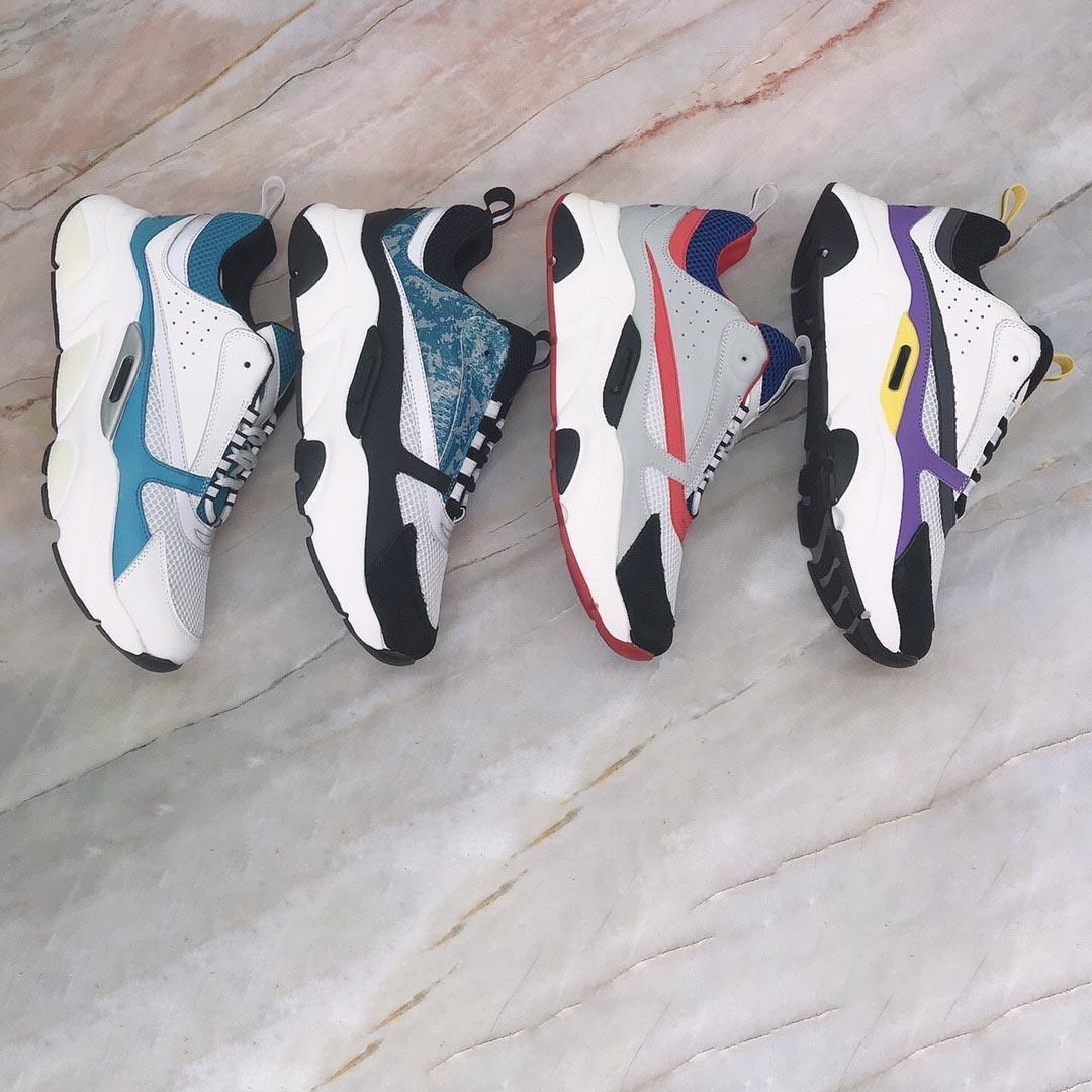 2021 donna uomo scarpe da ginnastica in vitello formatori uomini donne scarpe casual coppie moda coppie all'aperto sneaker all'aperto Top designer maschio femmina corridore scarpe sportiva con scatola taglia35-46