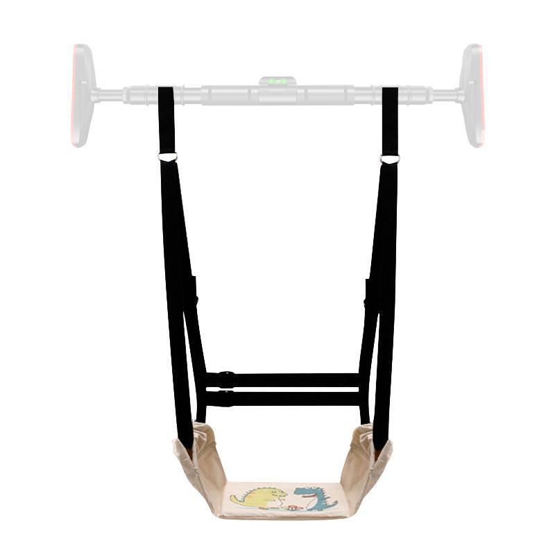 다기능 아기 키즈 가로 바 스윙 U 모양의 안전한 편안한 소프트 보드 교수형 의자 재미 있은 게임 장난감 바