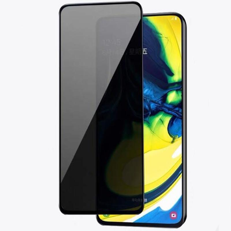 Anti-Spy Privacidad Cubierta completa Protector de vidrio templado Estilo impreso para Huawei P Smart Pro Honor X 20 SE Play 5T P30 Lite 100pcs / lot Simple Opp