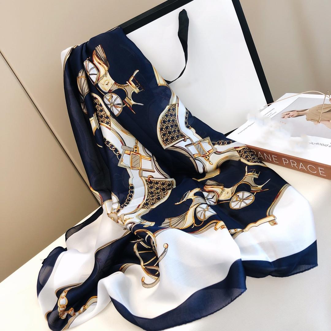 Bella sciarpa alla moda per le donne, splendide scialle solari all'aperto Scialle lungo 180 * 90 cm