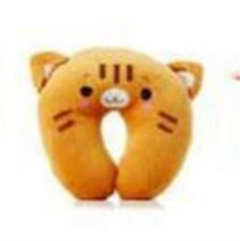 Soft U-Shaped Plush Sleep Neck Protection Pillow Office Cushion Cute Lovely Travel Pillows For Children/Adults 895 X2