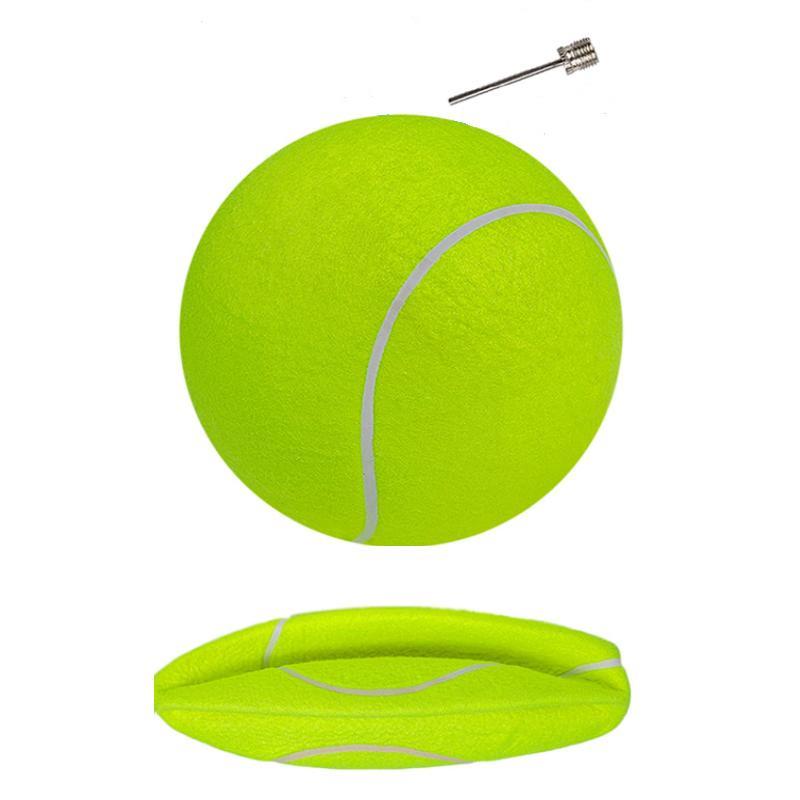 24CM Big Inflatable Tennis Ball Giant Pet Toy Dog Chews