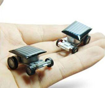 Lowest Price New Solar Toys Gift Super Mini Toys Solar Energy Intelligent Car