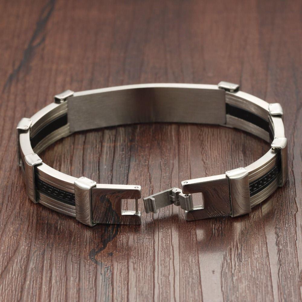 2017 Famous Brand Bracelets For Man Chain Link Best Friends Men's Bracelet  High Quality Silicone Bands Aliexpress Mens Bracelets From Ldd120,