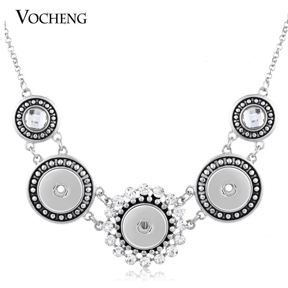 NOOSA قلادة الزنجبيل المفاجئة مجوهرات خمر التقط زر سلسلة المرأة العتيقة الفضة لأسلوب الشحن NN-078
