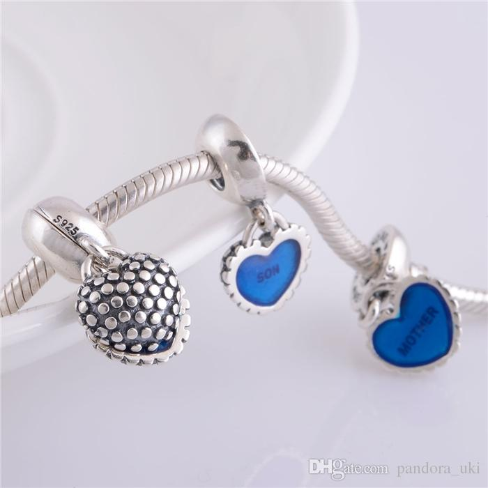 LW178 Brand Big Discount 925 Sterling Silver Charms Screw Thread ...