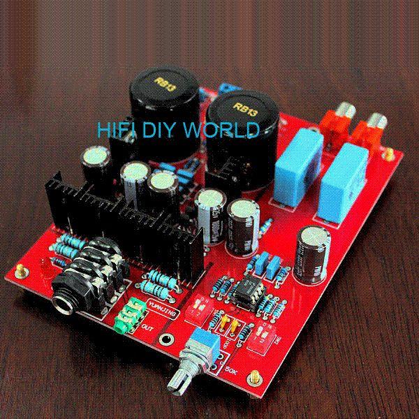 Lehmann Amp Headphone Amplifier Kit Board Bd139 Bd140 Lm833 Y30