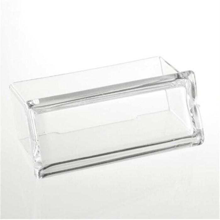 New Precision Fine Clear Plastic Desktop Business Card Holders ...