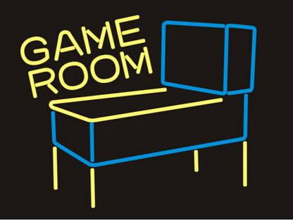 """Pinball Game Room Neon Sign Sport Game Play Ground Motel Store Display Advertisement Custom Handcrafted Real Glass Tube Neon Signs 17""""X14"""""""