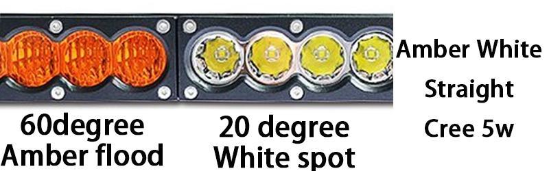 white amber 5w straight