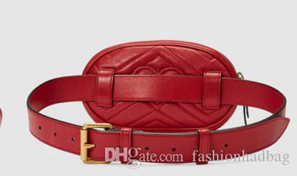 2018 Nuevo Top PU Bolsos de lujo Bolsos de mujer Bolsas de la cintura del diseñador Bolso Fanny Packs Bolsos de cinturón de la señora Bolso del pecho de las mujeres # 688