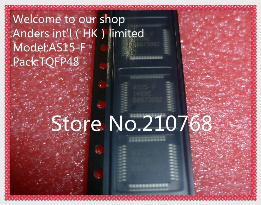 *** LOT DE 1*2 OU 5 CIRCUITS INTEGRES CMS AS15-F PUCE LCD QFP48 ***