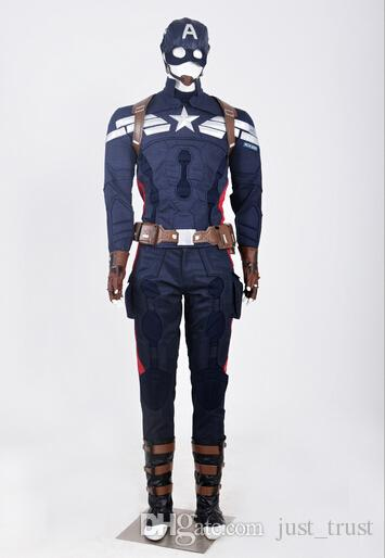 2015 new The captain American cosplay customs suits Flashmen The Avengers sets Cosplay fashion Deadpool Marvel theme costume