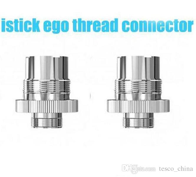 Epacket adapter 510 to ego thread connector assy adaptor For eleaf i stick mini 10w istick 20w 30w batteries ecig box mod
