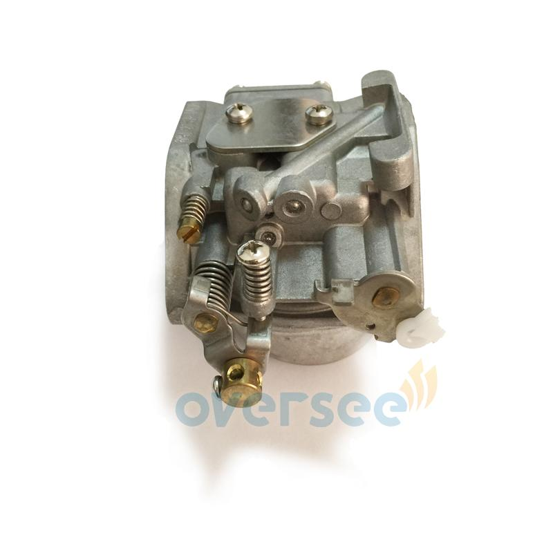 OVERSEE High Quality Carburetor 6H6-14301-01 For fitting Yamaha Outboard Spare Engine Parts Model 6HP 6C Two Stroke