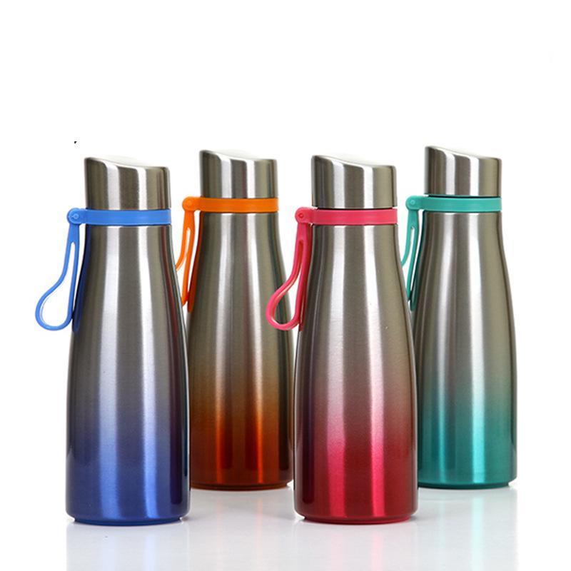 460ML Gradient color Taza de acero inoxidable Gradient color Vacuum cup Gradient Color Insulation Cup