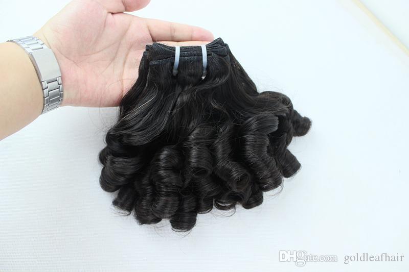 Królowa Funmi Hair 8-30 inch 3 sztuk Tanie Brazylijski Włosy Darmowa Wysyłka Indian Peruwiański Dziewiczy Brazylijski Włosy