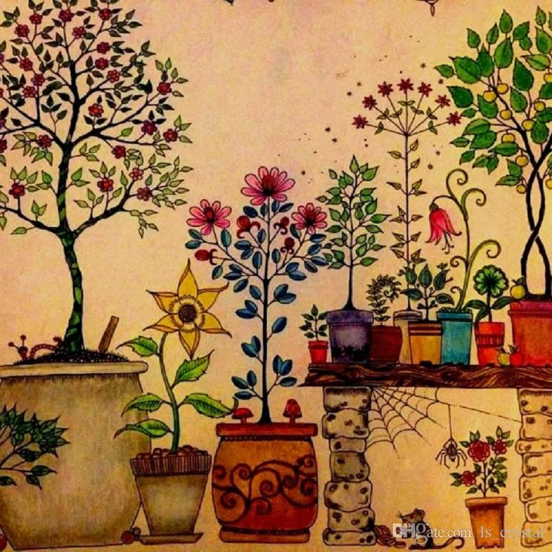 Secret Garden Coloring Book Online 2017 An Inky Treasure Hunt And