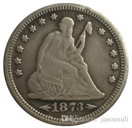 1873 يجلس ليبرتي الربع نسخة