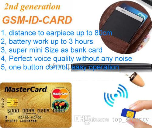 Nano GSM Invisible Wireless Spy Earpiece Earphone GSM Bluetooth NEW